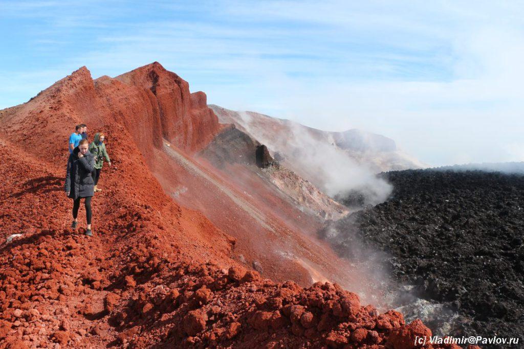 Na vershine vulkana Avachinskij 1024x683 - Вулканы доступные каждому