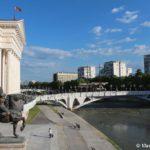 Naberezhnaya pered Arheologicheskim muzeem Makedonii 150x150 - Достопримечательности Скопье, продолжение