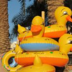 Naduvnye utochki na plyazhe v Akabe. Iordaniya. Aqaba. Jordan 150x150 - Акаба (Al Aqabah). Иорданский курорт на Красном море.