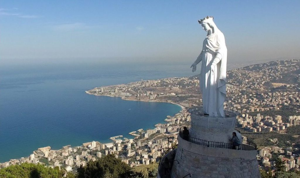 Narissa Our Lady of Lebanon 1024x609 - Путешествие в Ливан. Поиск попутчиков.
