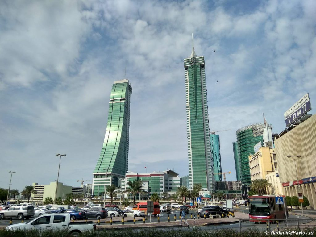 Neboskreby Manamy Bahrejn. Bahrain Financial Harbour 1024x768 - Прогулка по столице Бахрейна, Манаме