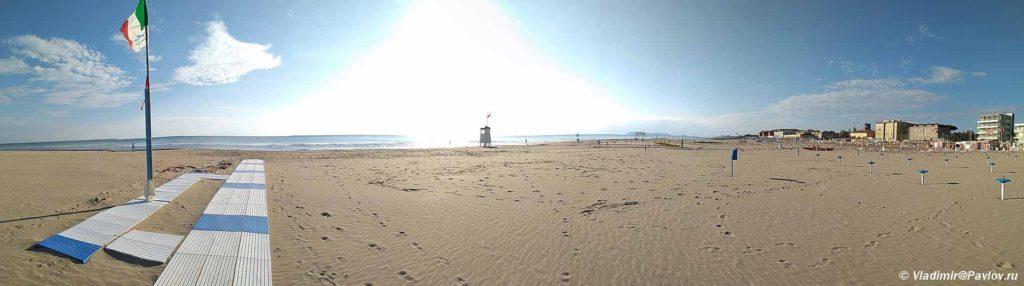 Obshhestvennyj plyazh v Rimini. Rimini beach 1024x286 - Куда съездить из Римини самостоятельно. Что посмотреть. Экскурсии.