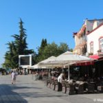 Ohrid. Nachalo kurortnoj naberezhnoj 150x150 - Набережная Охрида. Экскурсии по Охриду на лодках.