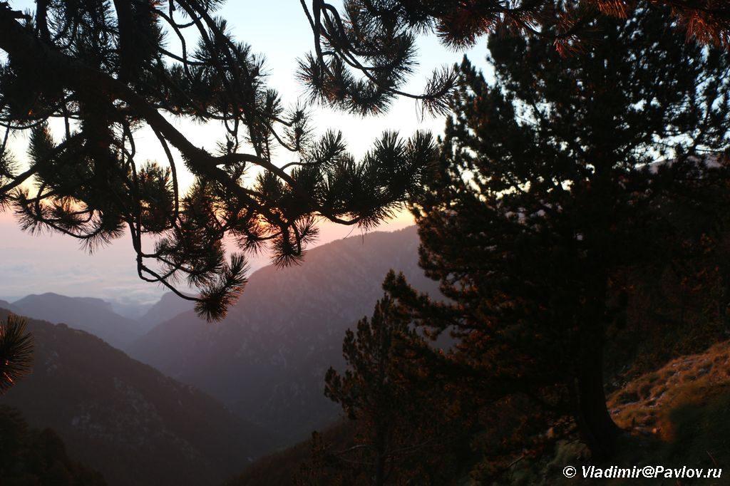Olympus National Park. Rassvet v natsionalnyj park Olimp Gretsiya 1024x682 - Утро на Олимпе. Спуск на Землю.