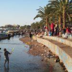Otdyhayushhie v Iordanii na plyazhe v Akabe. Iordaniya. Aqaba. Jordan 150x150 - Акаба (Al Aqabah). Иорданский курорт на Красном море.
