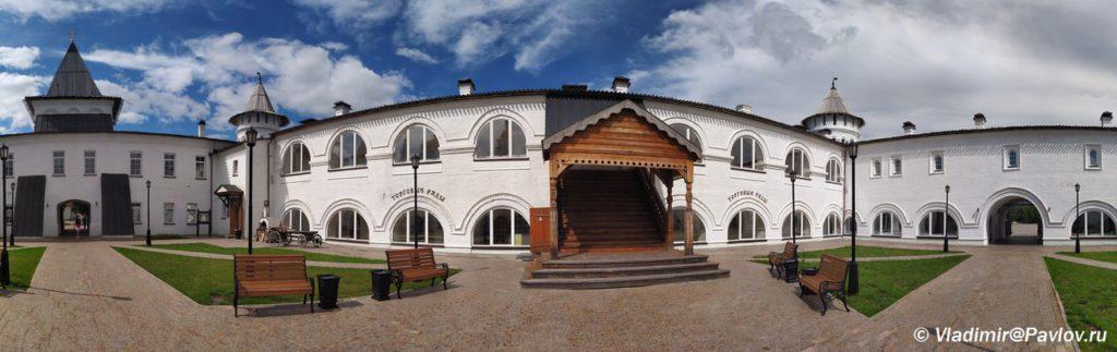 Panorama Gostinogo dvora Tobolska 1024x323 - Красная площадь Тобольска и Гостиный двор