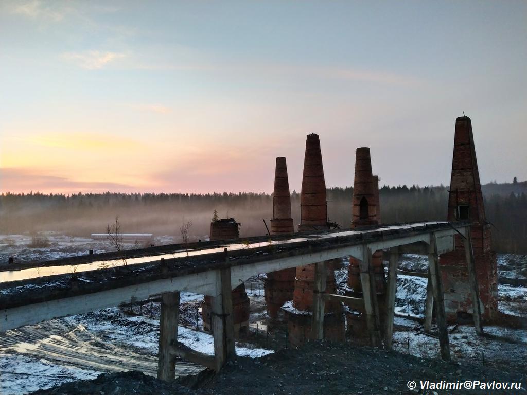 Pechi i estakada. Gornyj park Ruskeala. Kareliya - Бесплатный вход в Горный парк Рускеала, или «Рускеала без билета».