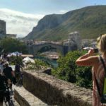 Pervyj vzglyad na Staryj Most v Mostare. Bosniya i Gertsegovina Mostar 150x150 - Что показывают в Мостаре организованным туристам