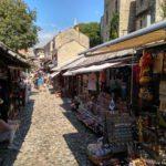Peshehodnaya ulitsa turisticheskij bazar. Bosniya i Gertsegovina Mostar 150x150 - Что показывают в Мостаре организованным туристам