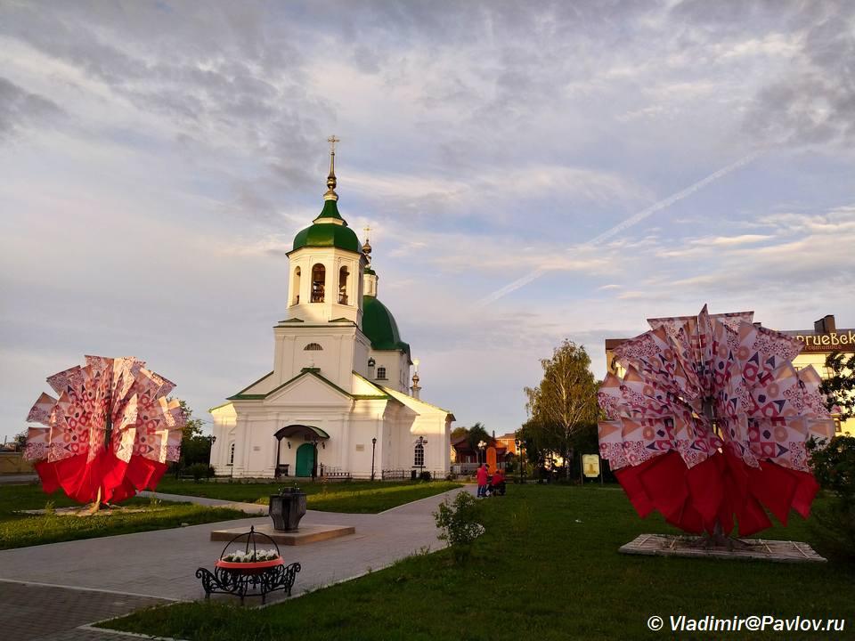 Petropavlovskaya tserkov Tobolska - Достопримечательности Тобольска. Музеи