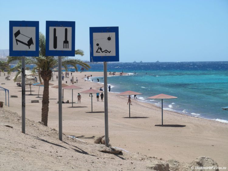 Plyazh u korallovogo rifa YAponskij sad v Iordanii. Iordaniya. Akaba. Aqaba. Jordan 750x563 - Пляжи Акабы. Тала Бей (Aqaba, Tala Bay). Иордания.