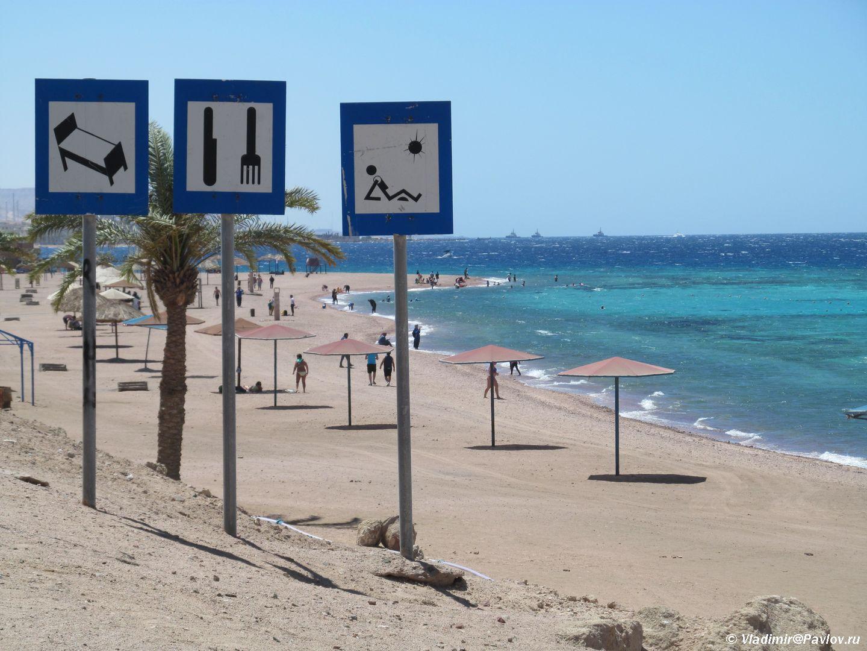 Plyazh u korallovogo rifa YAponskij sad v Iordanii. Iordaniya. Akaba. Aqaba. Jordan - Пляжи Акабы. Тала Бей (Aqaba, Tala Bay). Иордания.