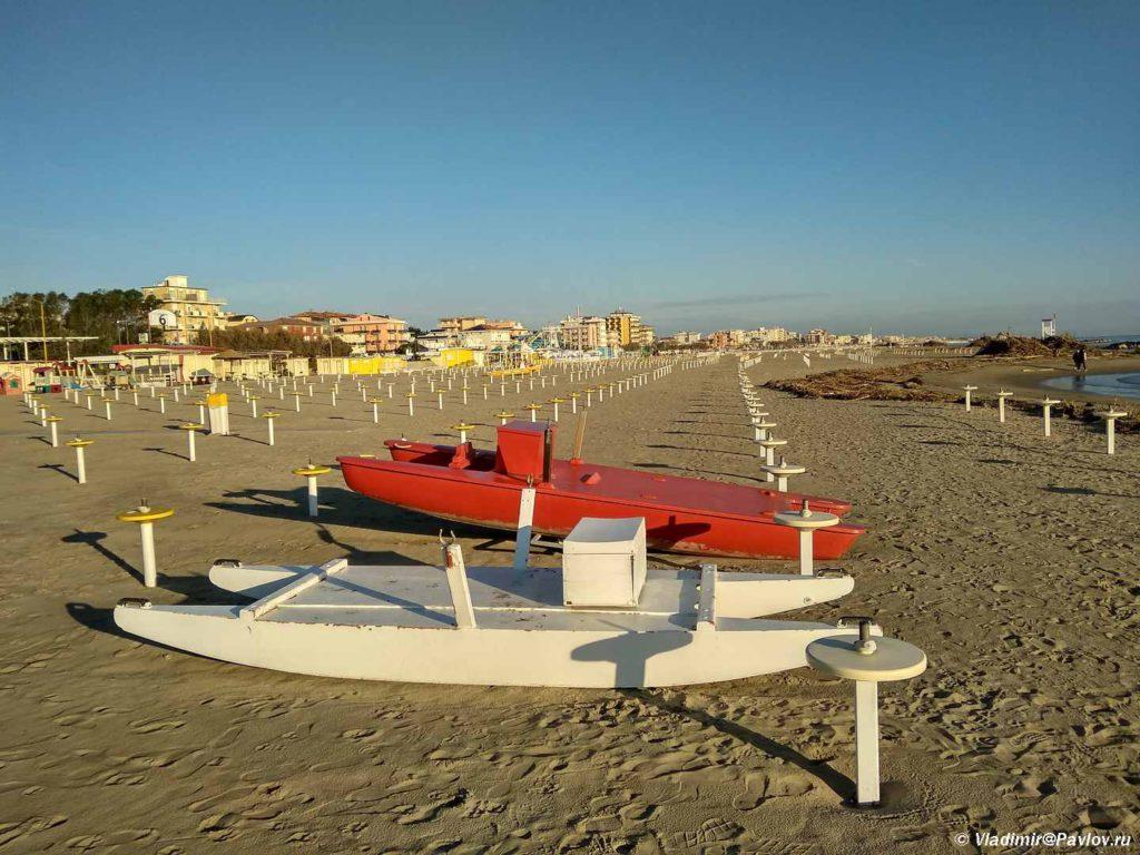 Plyazhnyj sezon v Rimini 1024x768 - Везде Италия. Расширяем пляжный отдых в Римини самостоятельными экскурсиями