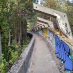 Po bobslejnoj trasse vpolne mozhno ezdit i na velosipede 150x150 - Спуск по бобслейной трассе в Сараево