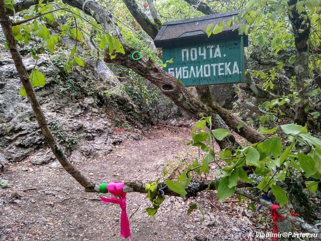 """Pochta i Biblioteka u Hrama Solntsa 1024x768 - К """"Храму Солнца"""" в Крыму. От Ласпи."""