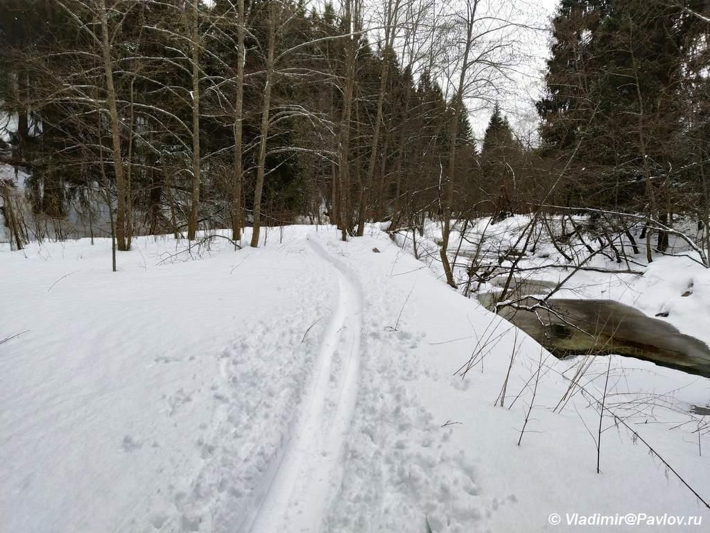 Podmoskovnaya lyzhnya. Reka Vorya - Поход выходного дня (ПВД) по Подмосковью на лыжах