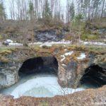 Podzemnoe ozero. Gornyj park Ruskeala. Kareliya 150x150 - Достопримечательность Карелии парк Рускеала