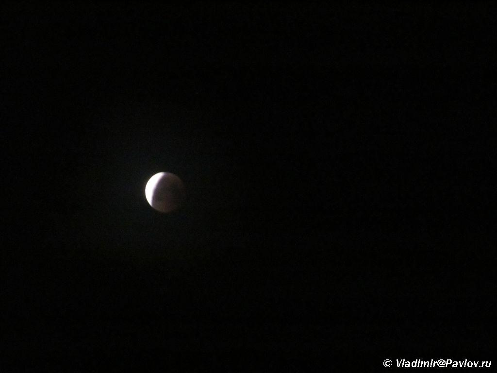 Polnoe lunnoe zatmenie v noch nashego voshozhdeniya na Kazbek - Восхождение на Казбек, штурм. Лунное затмение. 15