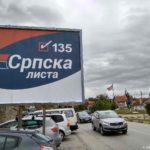 Predvybornye plakaty serbskoj partii. Kosovo. Kosovo 150x150 - Грачаница. Сербская община. Косово