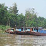 Pristan lodok na Mekonge. Laos 150x150 - Наша лодка по Меконгу