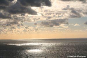 Proliv Pa de Kale. Frantsiya. Igra solntsa morya i oblakov 300x200 - Северный берег Франции