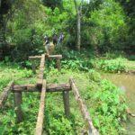Ranshe etot most byl chastyu peshehodnogo marshruta k vodopadu Phu Si Phu Si waterfall. Laos. Dostoprimechatelnosti Luang Prabang. Laos Luang Prabang 150x150 - Окрестности Луанг Прабанг. Пещера Пхалуеси (Phaluesi Cave). Водопад Пху Си (Phu Si Waterfall)