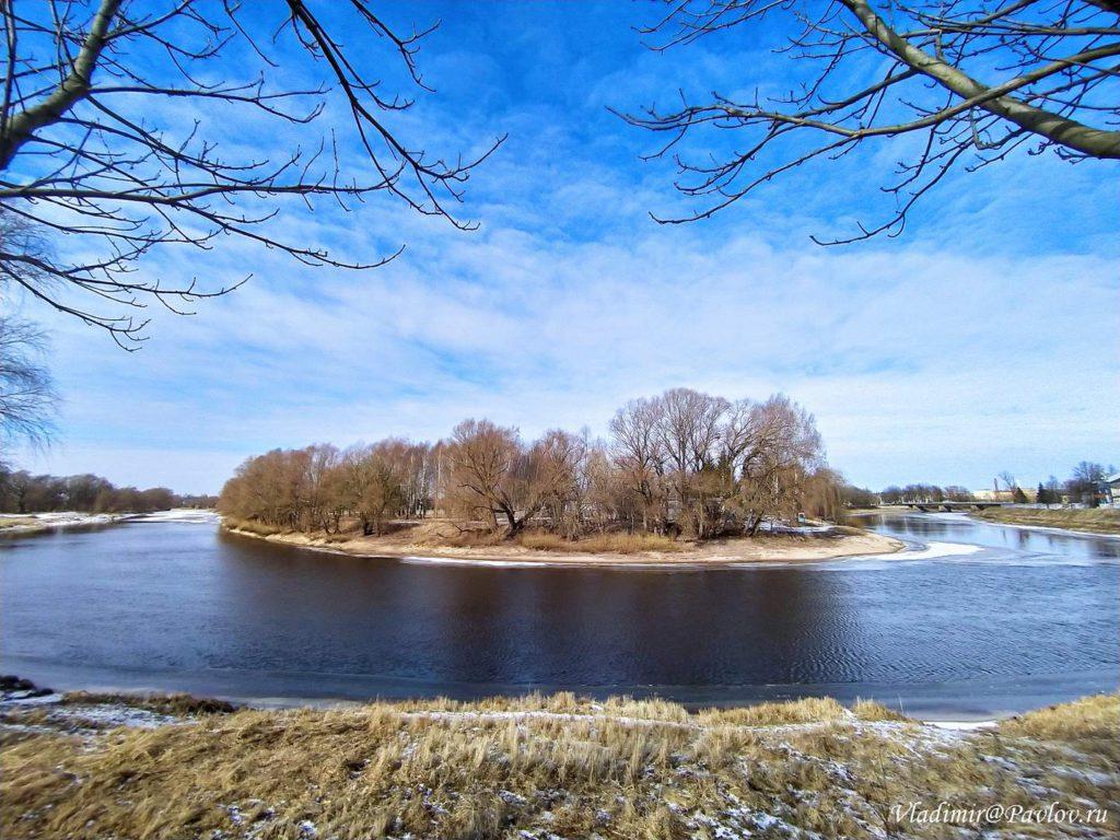 Reka Polist v Staroj Russe 1024x768 - Старая Русса из Великого Новгорода. Экскурсионный тур на поезде из Москвы