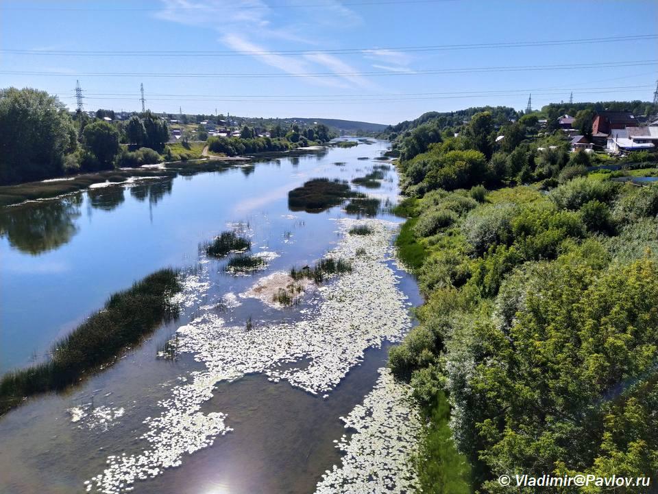 Reka Sylva v Kungure - Кунгур. Достопримечательности