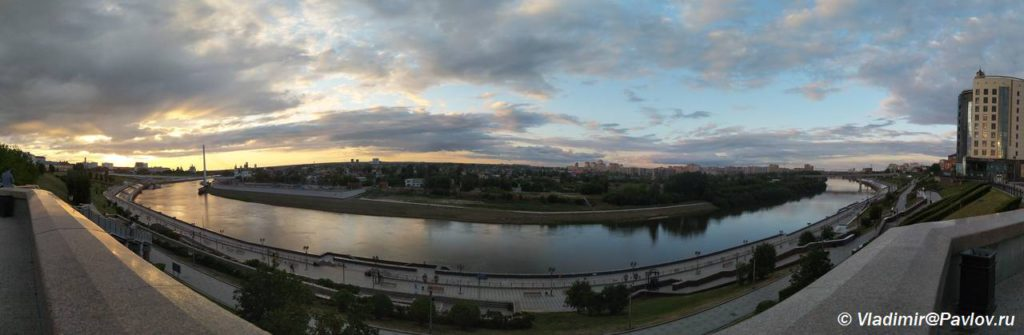 Reka Tura v Tyumeni. Samostoyatelnaya ekskursiya 1024x335 - Набережная реки Тура. Тюмень