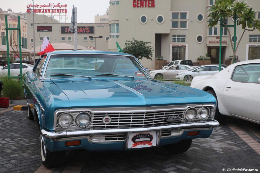 SHevrole. Avtomobilnyj klub Bahrejn Klassik Kars. Bahrain Classic Cars Club 1024x683 - Автомобильный клуб Bahrain Classic Cars. Выставка к Национальному дню Бахрейна