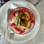 Salat v kafe v Skope 150x150 - Македонская кухня. Винный фестиваль. Бурекцилница