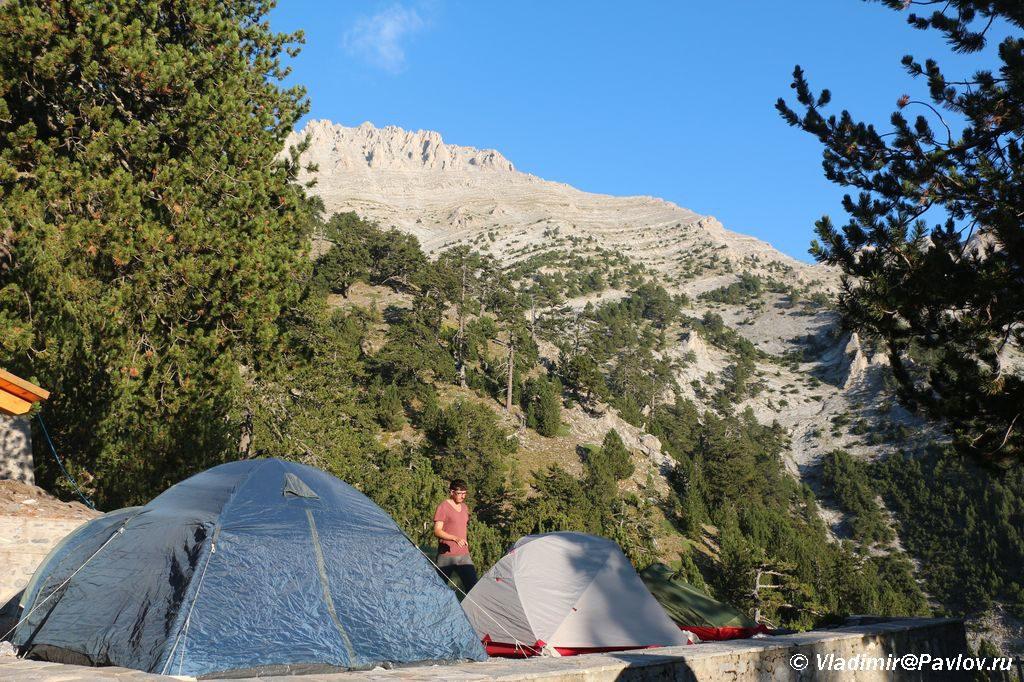 Samostoyatelno na goru Olimp s palatkoj. Gretsiya 1024x682 - Через Балканы на вершину Олимпа. Черногория - Албания - Македония - Греция.