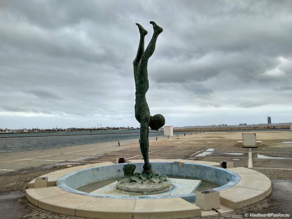 Skulptura Lovets zhemchuga. Natsionalnyj muzej Bahrejna. Bahrain National Museum 1024x768 - О Бахрейне, стране и острове