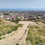 Smotrovaya ploshhadka s vidom na Derbent 150x150 - Дербентская крепость