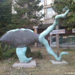 Sovremennoe iskusstvo Makedonii. Ohrid 150x150 - Столица Македонии. Город статуй Скопье. Референдум.