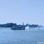 Spasatelnye raboty na morskom parade v Baltijske po sluchayu dnya Voenno Morskogo Flota 150x150 - Морской парад в Балтийске ко дню Военно-Морского Флота