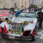 Starinnyj avtomobil s sovremennym dvigatelem. Avtomobilnyj klub Bahrejn Klassik Kars. Bahrain Classic Cars Club 150x150 - Автомобильный клуб Bahrain Classic Cars. Выставка к Национальному дню Бахрейна