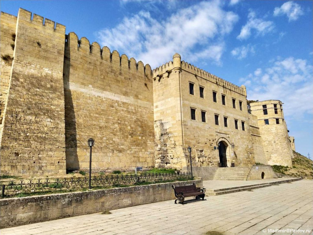 Stena tsitadeli Naryn Kala v Derbente 1024x768 - Дербентская крепость