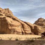Steny kanona Burrah Burrah Canyon. Iordaniya. Pustynya Vadi Ram. Wadi Rum Jordan 150x150 - Каньоны в пустыне Вади Рам (Wadi Rum). Иордания.