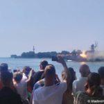 Strelby na morskom parade v Baltijske po sluchayu dnya Voenno Morskogo Flota 150x150 - Морской парад в Балтийске ко дню Военно-Морского Флота