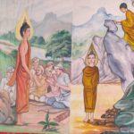 Stseny iz zhizni Buddy.. Laos. Luang Phabang 150x150 - Храмы и Закаты на Храмовой Горе Пху Си (Phu Si Mount)