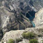 Sulakskij kanon so storony smotrovoj ploshhadki za damboj CHirkejskoj GES. Dagestan 2 150x150 - В Сулакский каньон. Продолжение