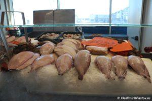 Svezhaya ryba na naberezhnoj Ostende 300x200 - Бельгия. Остенде (Ostende). Бельгия с палаткой. 12