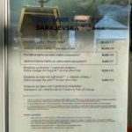 TSeny na kanatnuyu dorogu v Saraevo. Bosniya i Gertsegovina Sarajevo 150x150 - Бобслейная олимпийская трасса в Сараево! Канатная дорога