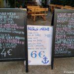 TSeny v kafe CHernogorii. Budva 150x150 - Набережная Будвы. Пляж Магрет. Расписание автобусов из Будвы.
