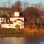 TSerkov Klimenta Papy Rimskogo bereg Velikoj 150x150 - Мирожский монастырь в Пскове