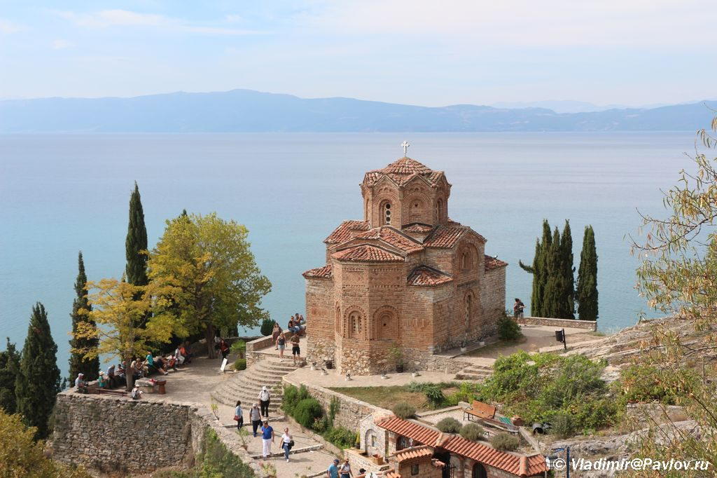 TSerkov Svyatogo Ioanna v Ohride 1024x682 - Старый город Охрида. Экотропа. Сила Охридского озера.