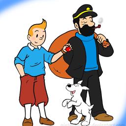Tintin Milu i Kapitan  - Бельгия. Бельгийские комиксы и граффити. 4