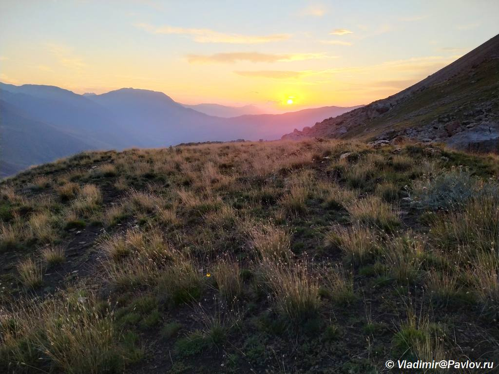 Treking v Dagestane. Zakat v gorah. Kurush - Горный Дагестан. Базардюзи, Ярыдаг, Шаблусдаг, Куруш