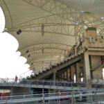 Tribuny Gonochnoj trassa Formula 1 v Bahrejne. Bahrain International Circuit 150x150 - Гоночная трасса Формула 1 в Бахрейне. Bahrain International Circuit Formula 1, Sahir